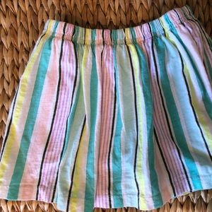 Carter's soft gauze skirt with attached shorts 4T